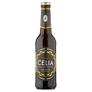 Temno brezglutensko pivo Celia