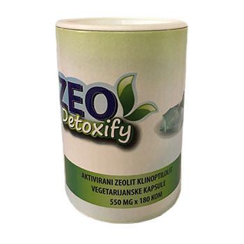 Zeolit kapsule Zeo Detoxify
