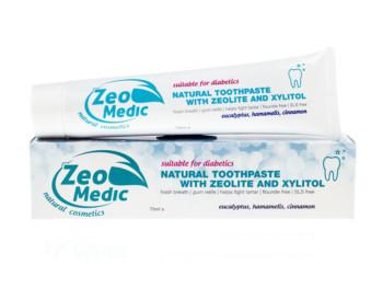 Zobna pasta z zeolitom